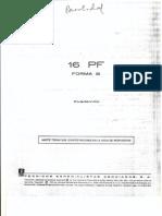 16PF Forma B