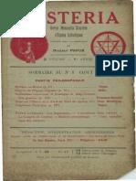 Mysteria août 1913