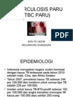TBC Paru KKN Giwangan.ppt