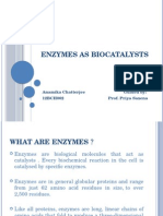 Enzymes as Biocatalysts