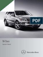 Mercedes 2012-M-Class