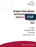 Object-Oriented Modeling of Electrical Machines Part II