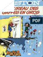 Gaston Lagaffe - Le Bureau Des Gaffes en Gros
