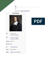 Baruch Spinoza - Biography