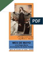 MES DE MAYO A LA VIRGEN MARÍA EN EL ESPÍRITU DE SANTA TERESA