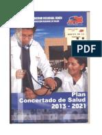 Plan Cocertado Salud Junin 2013-2021