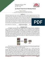 Natural Image Based Visual Secret Sharing Scheme