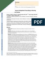 Interventions in Nursing Homes