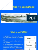 Ecosystem Introductory Presentation