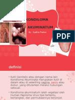 Kandiloma Akuminata