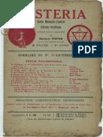 Mysteria octobre 1913