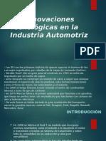 Las Innovaciones Tecnológicas en La Industria Automotriz (1)