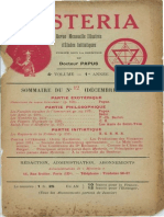 Mysteria décembre 1913