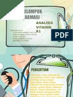 Analisis Vitamin B1