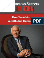 The Success Secrets of Jim Rohn - Taylor, Anthony