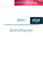 2. Switch Configuration