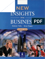 New Insights Into Business - Workbook- Students Book
