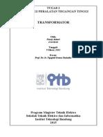 tugas  transformator