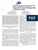 convergence in financial services:Paradigm Shift