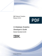 IBM Netezza in-Database Analytics Developers Guide-3.2.0.0