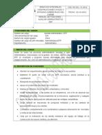 Manual de Funciones Auxiliar Administrativo Epp