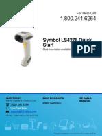 Motorola QuickStart ls4278 Qs
