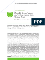 COELHO DE SOUZA, Marcela. 2014. Descola's Beyond Nature and Culture viewed from Central Brazil