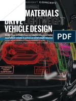 Mixed Materials Drive Lightweight Vehicle Design