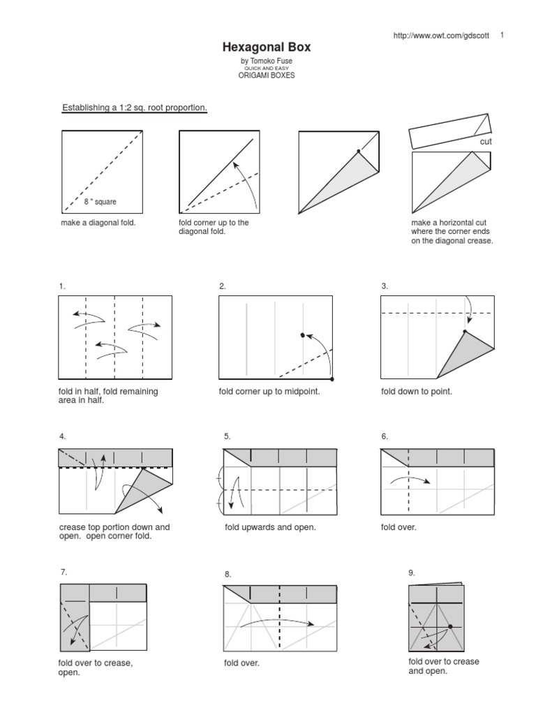 tomoko fuse hexagon box instructions electronic schematics collections