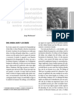 Riechmann, Jorge - El Trabajo Como Dimensión Antropológica (y Como Mediación Entre Naturaleza y Sociedad)