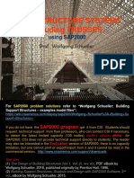Axial Structure Systems including Trusses using SAP2000, Wolfgang Schueller