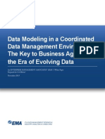 Data Modeling in a Coordinated Data Management Environment the Key to Business Agility in the Era of Evolving Data