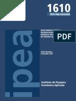 INVESTIMENTO DIRETO E INTERNACIONALIZAÇÃO DE EMPRESAS BRASILEIRAS NO PERÍODO RECENTE