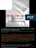 Frame Structures  including SAP2000 (rev. ed.), Wolfgang Schueller