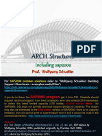 ARCH Structures including SAP2000, Wolfgang Schueller