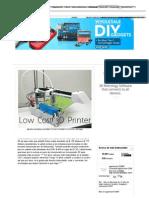 Impresora 3D Edge - Una Impresora 3D de Código Abierto Asequible!