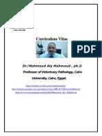 Mahmoud Aly Mahmoud, Professor of pathology, Faculty of Veterinary Medicine, Cairo Universiry. Fish pathology