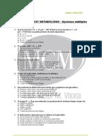 TEST METABOLISMO MÚLTIPLES 1 MCM