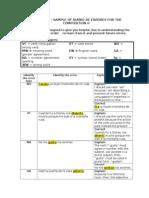 Sample de Diario de Errores - In- Class Writing IIdocx