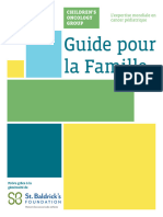 Children's Oncology Group Family Handbook in French