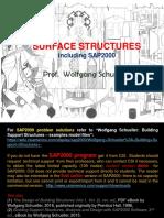 Surface Structures, including SAP2000 (rev. ed.), Wolfgang Schueller
