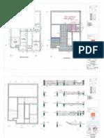 Precast concrete layout