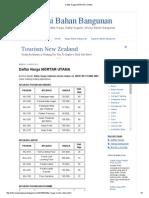 Daftar Harga Mortar Utama