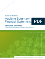 Guide for Auditors - Auditing Summary Financial Statements STANDARD DISCUSSED.pdf
