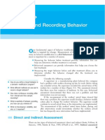 Chapter 2 - Observing and Recording Behavior