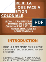 1 SD Colonisation