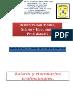8-Remuneración Médica, Salario y Honorarios Profesionales