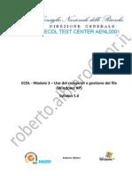 Modulo 2 Uso Del Computer e Gestione Dei File-F