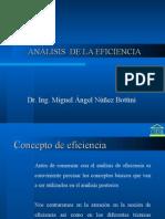 A. Analisis de La Eficiencia 2015