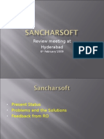 Sancharsoft Workshop